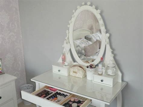 ikea white vanity table ikea hemnes dressing table the trove