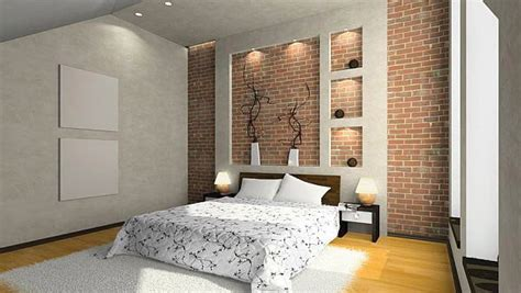 bedrooms  exposed brick walls home design lover