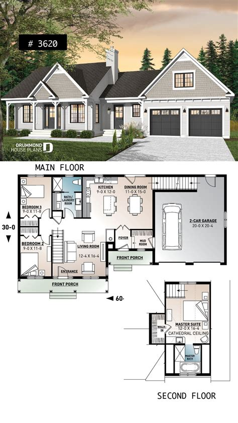 House Plans Master Bedroom Above Garage by Master Suite Above Garage 2 Beds On Open Space