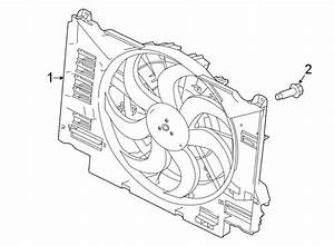 Jaguar Xe Engine Cooling Fan Assembly  Ingenium