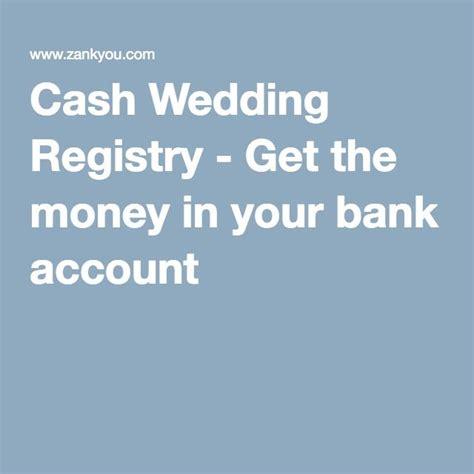 money wedding registry 17 best ideas about wedding registries on