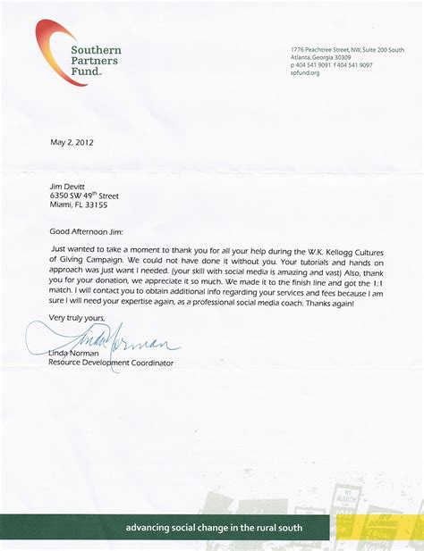 nice reference letter   client writing business