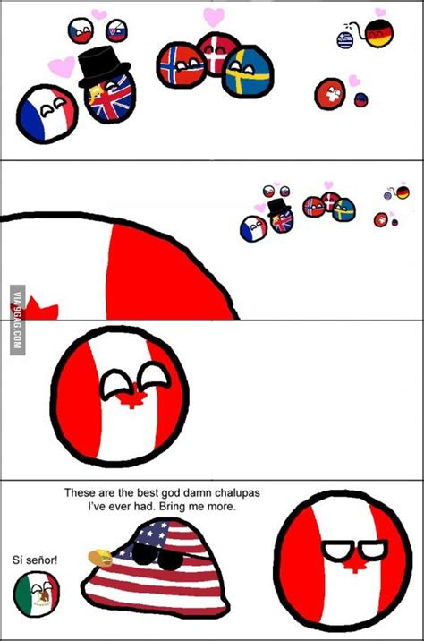 Country Ball Memes - my favourite country ball comic canada its ok and country
