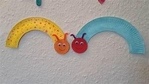 Kleine Häuser Für Senioren : raupen aus papptellern basteln mit kindern der familienblog f r kreative eltern ~ Sanjose-hotels-ca.com Haus und Dekorationen