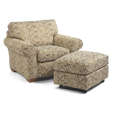 flexsteel 7305 10 08 vail chair and ottoman discount