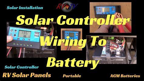 Solar Controller Wiring Volt Battery