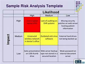 risk analysis template what is a risk assessment example With meaningful use security risk analysis template