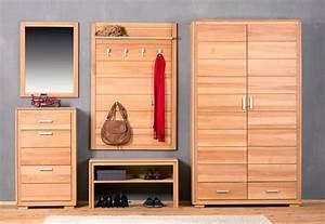 Garderoben Set Massivholz : garderobenpaneel genf gro kernbuche massivholz ge lt gewachst ~ Whattoseeinmadrid.com Haus und Dekorationen