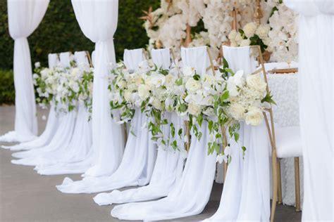 deco mariage fait maison 12 beautifully draped fabric wedding chair ideas mon cheri bridals