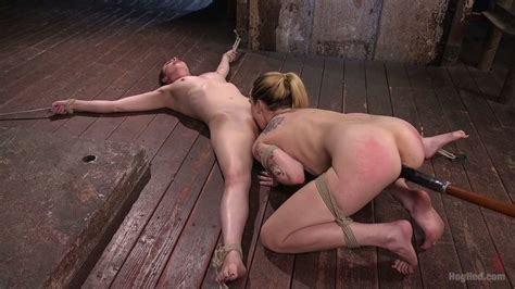 Tied Up And Crucified Casey Calvert Gets Her Pussy Licked