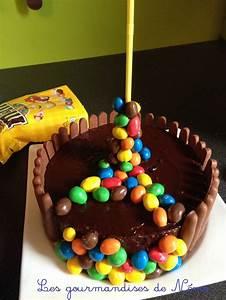 Faire Un Gateau D Anniversaire : faire gravity cake aux m m 39 s recette de gravity cake comment faire un gravity cake gateau d ~ Carolinahurricanesstore.com Idées de Décoration