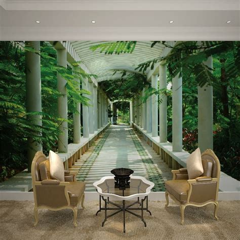 10 Living Room Designs With Wall Murals by 3d Wall Murals Custom 3d Television Wallpaper Mural