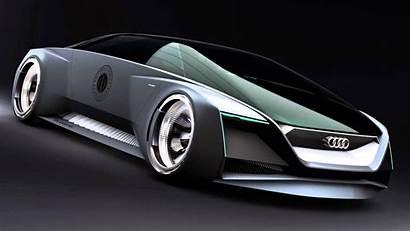 Audi Wallpapers Futuristic Future Cars Ender Supercar