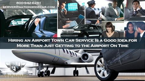 Airport Town Car Service by Hiring An Airport Town Car Service Is A Idea For More