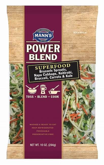 Salad Blend Power Mann Slaw Vegetable Vegetables
