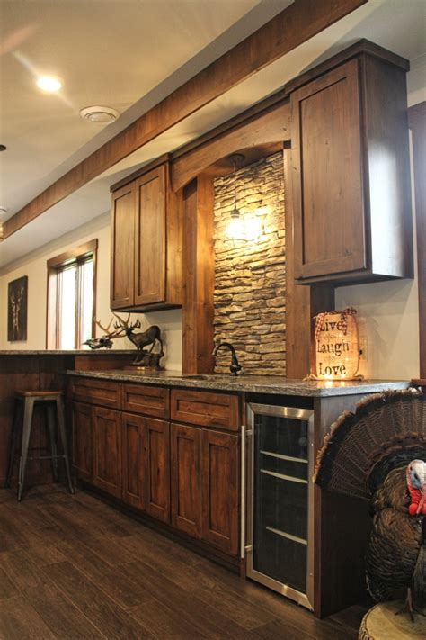 rustic cabinets for kitchen rustic alder cabinets meadville pa fairfield custom 4963
