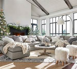Pottery barn pearce upholstered furniture sale 30 off for Pearce sectional sofa pottery barn