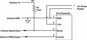 Arduino - How To Read And Control The Speed Of A 12v - Four Wire Fan