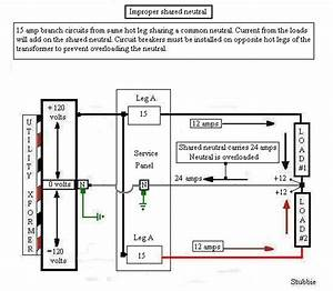 Shared Neutral Wiring Diagram   29 Wiring Diagram Images