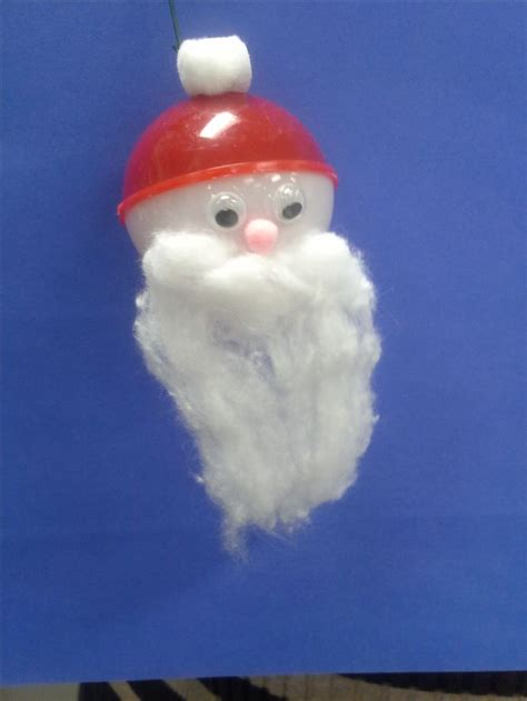 santachristmas craft fishing bobber googly eyes pink