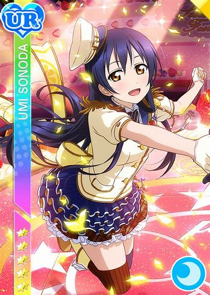 Umi Ur Sonoda Cards Anime Cosplay Mmd