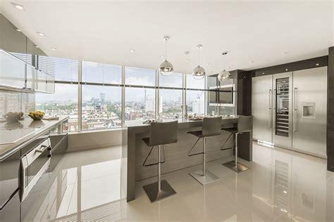 Luxury London Penthouse Apartment   Contemporary   Kitchen