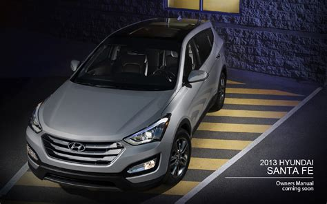hyundai santa fe owners manual  carengineupdatesxyz