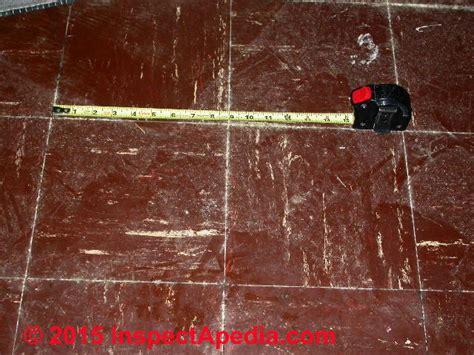 asphalt floor tiles color guide to identify asphalt asbestos vinyl asbestos