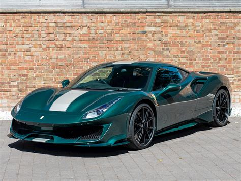 It was introduced in 2015 as a replacement to the 458. This Dark Green Ferrari 488 Pista Can be Yours | News | SuperCars.net