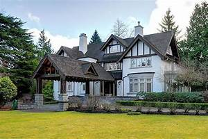 Tudor-style Mansion in Vancouver's First Shaughnessy on ...