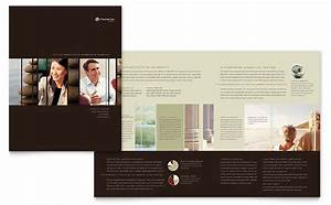 Indesign Presentation Template Free Financial Planner Brochure Template Design