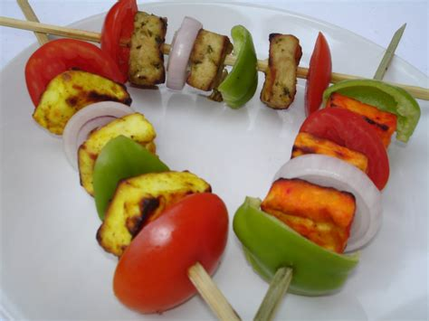indian cuisine starters tri colored paneer kebabs indian food recipes food and