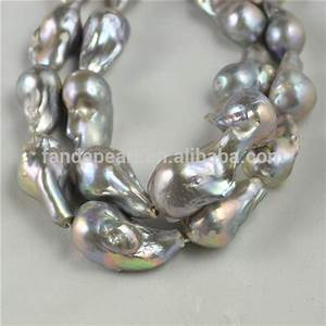 Natural Pearl Price Freshwater Big Baroque Pearl Strands ...