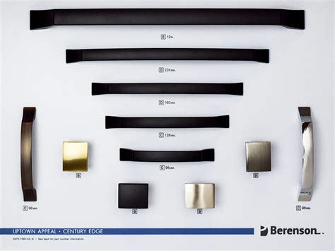 uptown appeal berenson boards decorative hardware products