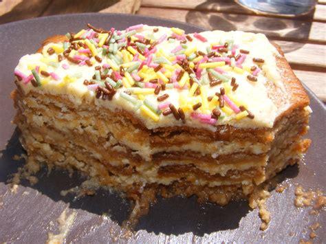 recette de cuisine pour anniversaire un gateau aux petits beurre pour 12 personnes recettes