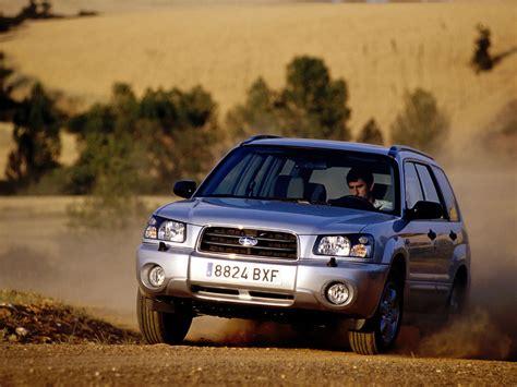 Subaru Forester (sg) '2003–05