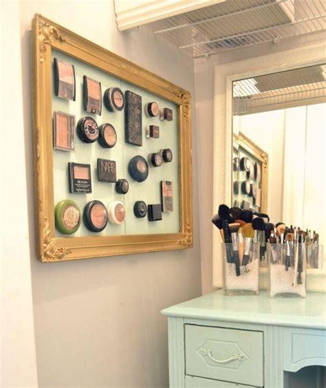 organization ideas makeup ideas originales para hacer tu propio organizador de Bathroom