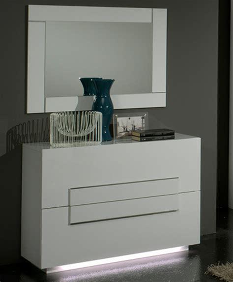 commode chambre commode 2 tiroirs city laque blanc chambre à coucher