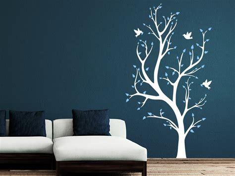 An Wand by Wandtattoo Zweifarbiger Baum Wandtattoo De