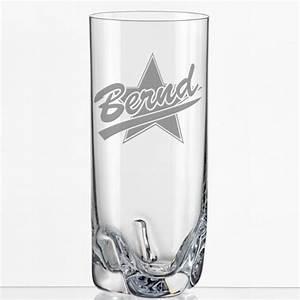Trinkglas Mit Namen : trink glas mit namen graviert geschenkplanet ~ Markanthonyermac.com Haus und Dekorationen