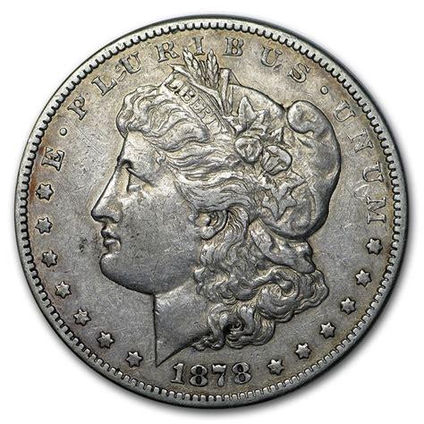 1878cc Morgan Dollar Vf  Morgan Dollars (1878 1904
