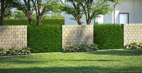 Garten Sichtschutz Mauern by Gartenmauer Ganz Einfach Selber Bauen Obi Gartenplaner