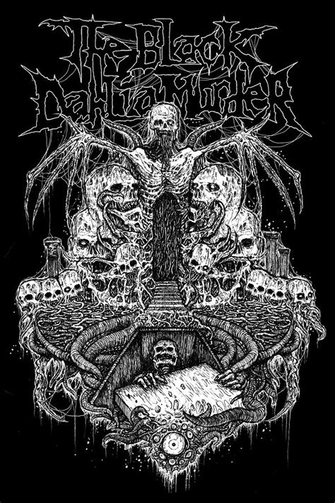 The Black Dahlia Murder by Mark Riddick   Random art
