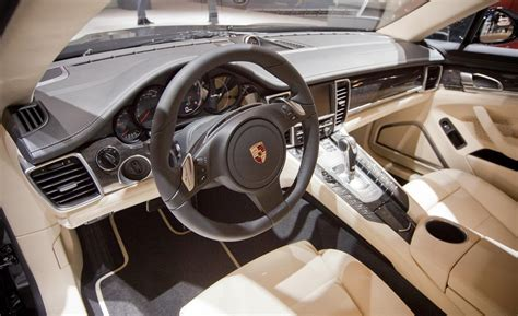porsche panamera interior 2012 car and driver