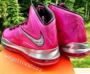 "Nike LeBron X ""Think Pink"" Sample on eBay - SneakerNews.com"