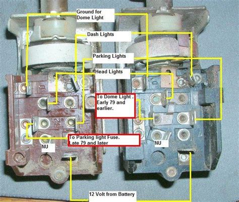 Cj7 Headlight Switch Wiring Diagram by Dash Lights Page 2 Jeep Cj Forums