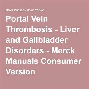 32 Best Portal Vein Thrombosis Images On Pinterest