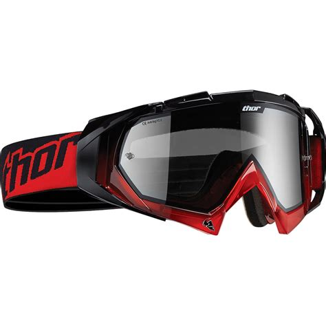goggles motocross thor hero red black motocross goggles thor ghostbikes com