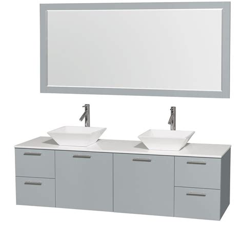 reviews of kitchen sinks wyndham collection amare 72 in w x 22 25 in d vanity in 4844