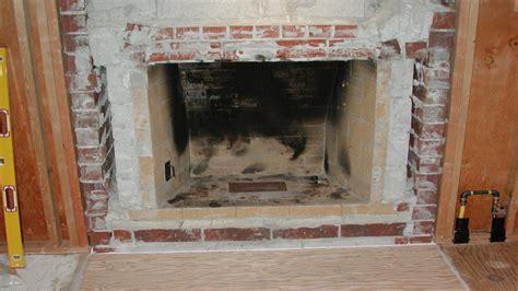 Gas fireplace insert, build frame for ventless fireplace